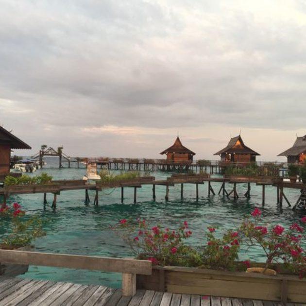馬來西亞 西巴丹,海平面升高的潛水天堂,Barracuda失蹤了的Barracuda Point